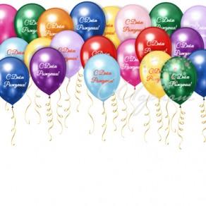 с день рождения картинки с шариками